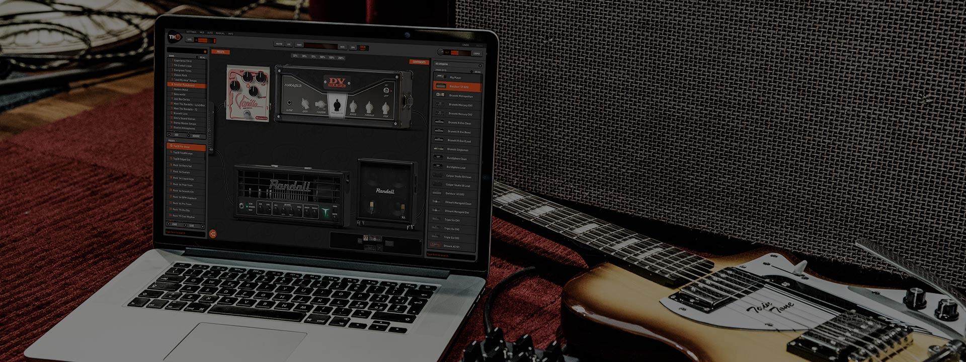 Overloud TH U Complete Mac 破解版 吉他谱曲软件-麦氪派(WaitsUn.com | 爱情守望者)