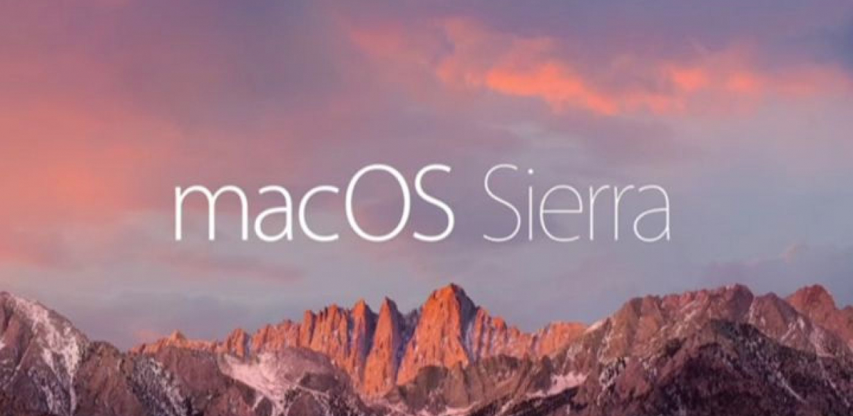 Macos Sierra Compatibility