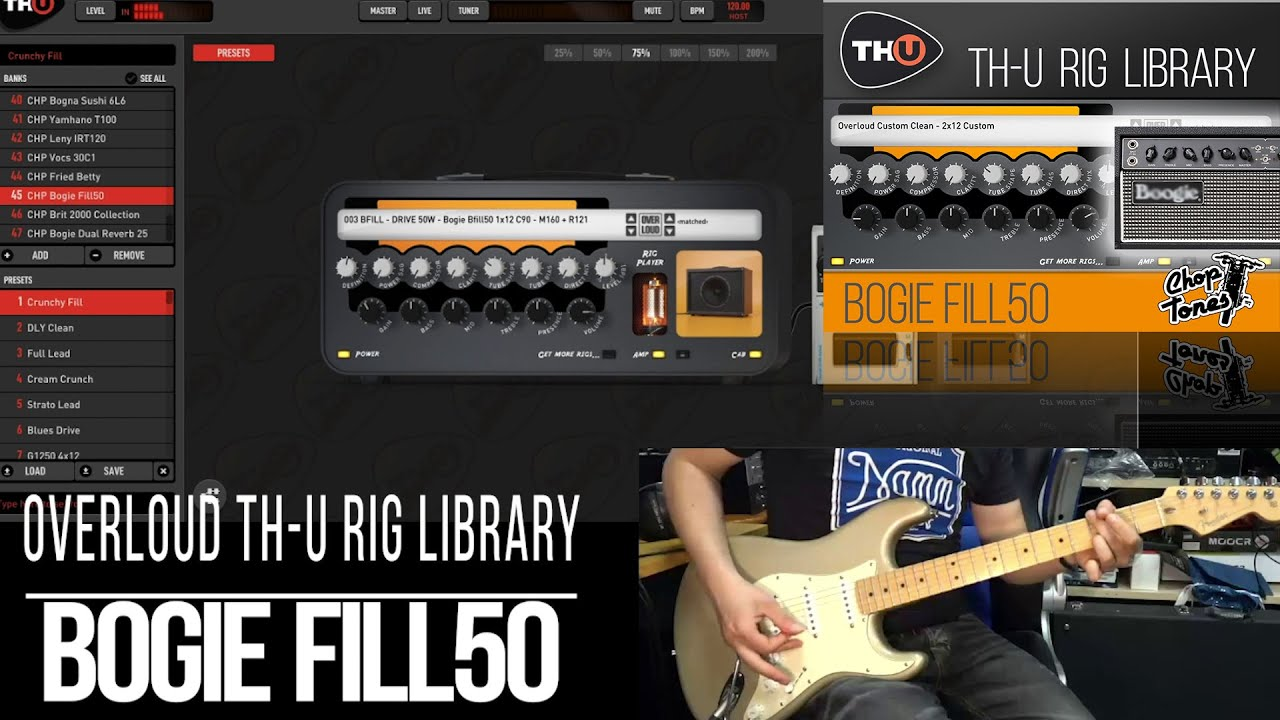 Embedded thumbnail for Choptones Bogie Fill50 > Video gallery