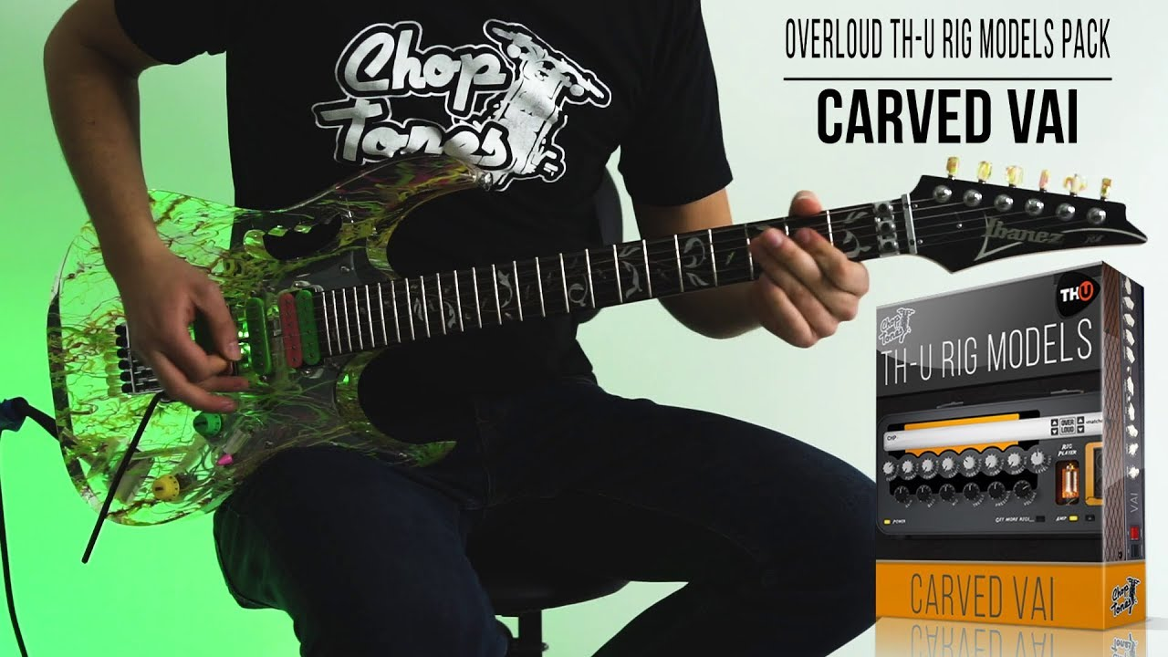 Embedded thumbnail for Choptones Carved Vai > Video gallery